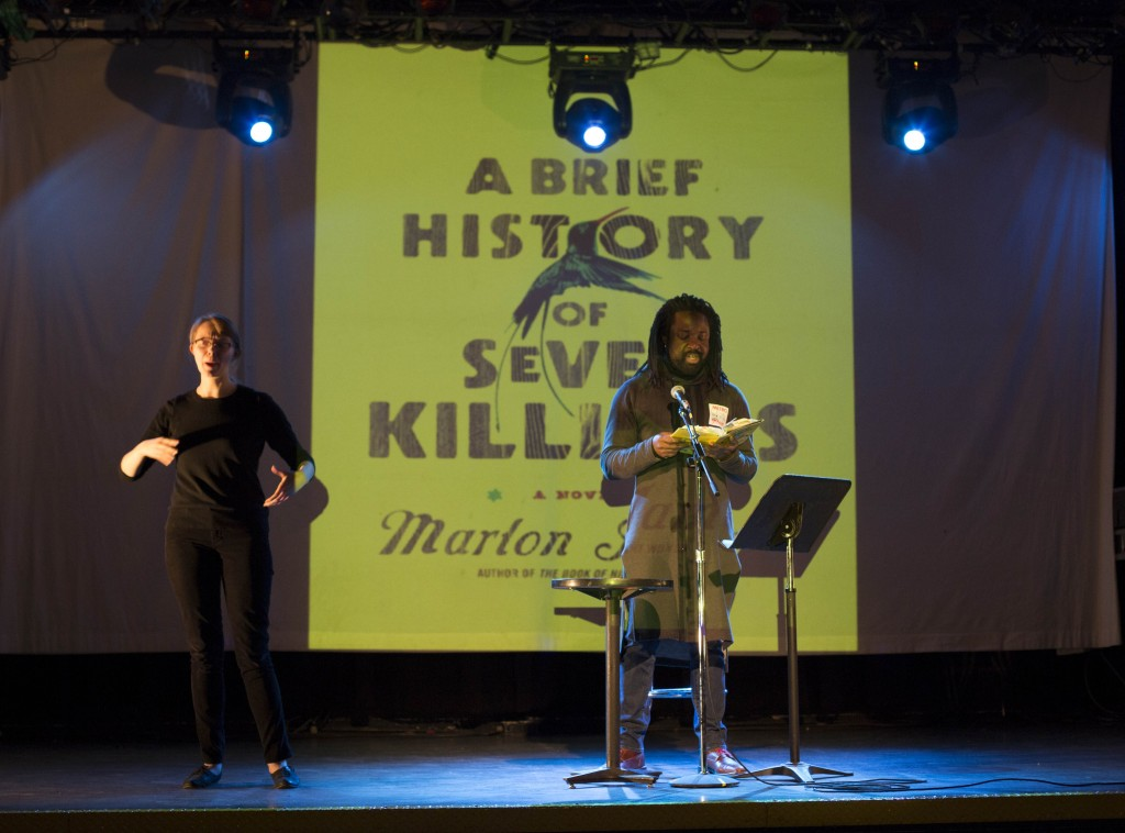 Marlon James/Photo: Ben Bowen