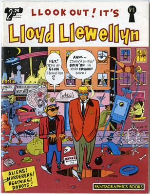 Lloyd Llewellyn #1 1986