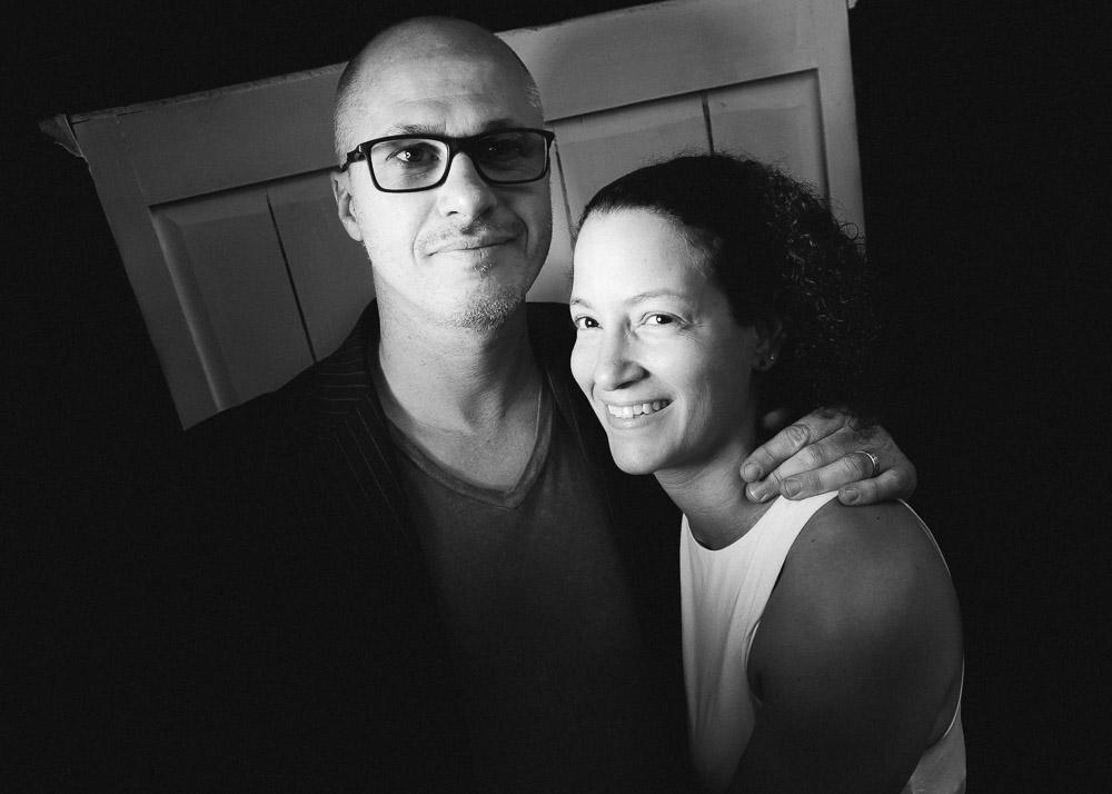 Aleksandar Hemon and Teri Boyd/Photo: Joe Mazza/Brave Lux