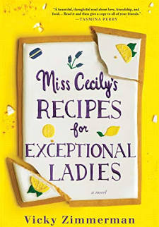 A Leisurely Escape: A Review of Vicky Zimmerman's Miss Cecily's Recipes For Exceptional Ladies